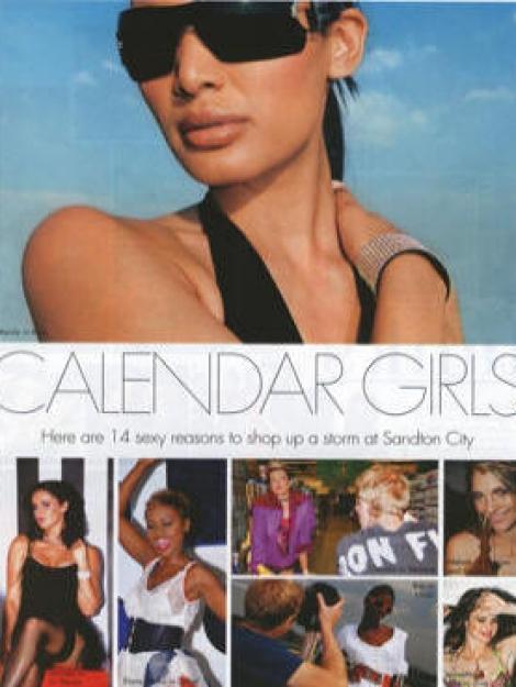 Elle Magazine Article November 2006 Pg1
