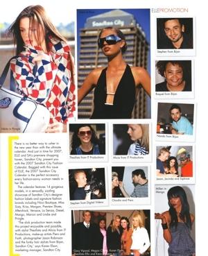 Elle Magazine Article November 2006 Pg2