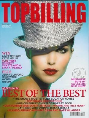Top Billing Cover